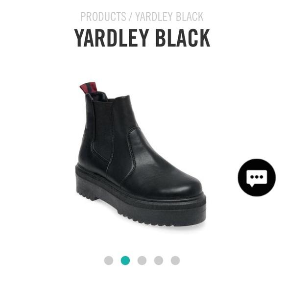 Steve Madden Yardley Black Boots accf00392